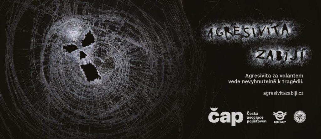 Logo projektu Agresivita zabíjí