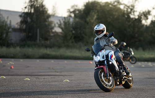 Škola smyku pro motorky Most